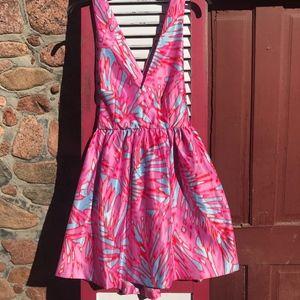 Romeo & Juliet Pink, Blue, Red Dress